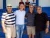Décio Milane, Pe. Adilson Nery, Antonio (ajef) e José Wilson