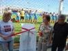 José Wilson e familia de Marcelo inaugurando o campo de futebol society Marcelo Castro Gomes da Silva