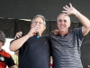José Wilson, presidente do Colina, e Antonio (ajef), futuro presidente