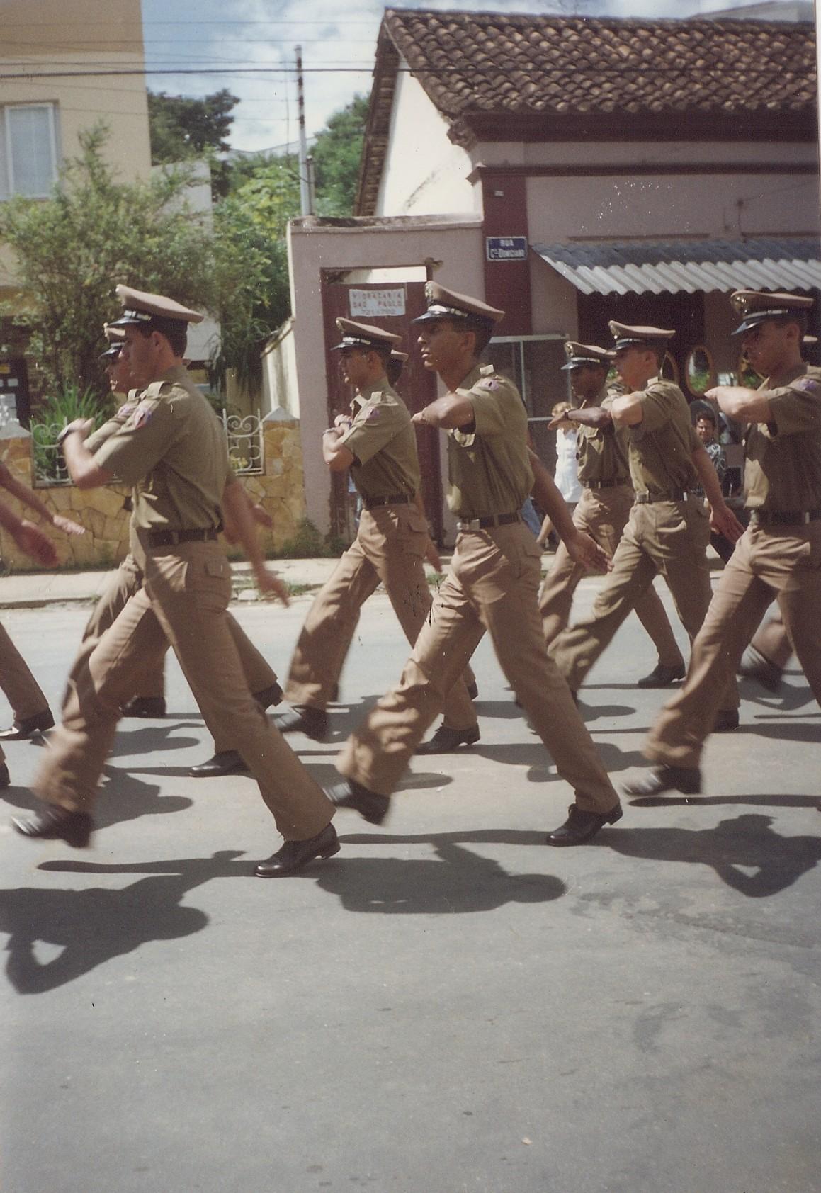 Desfile formatura