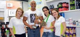 Nutrir Mais recebe visita do atleta Ricardo Barguine