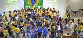Mais de 400 crianças participam do Congresso da IEQ Muriaé